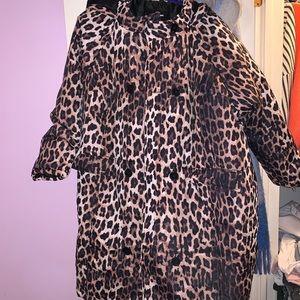 Puffer long coat